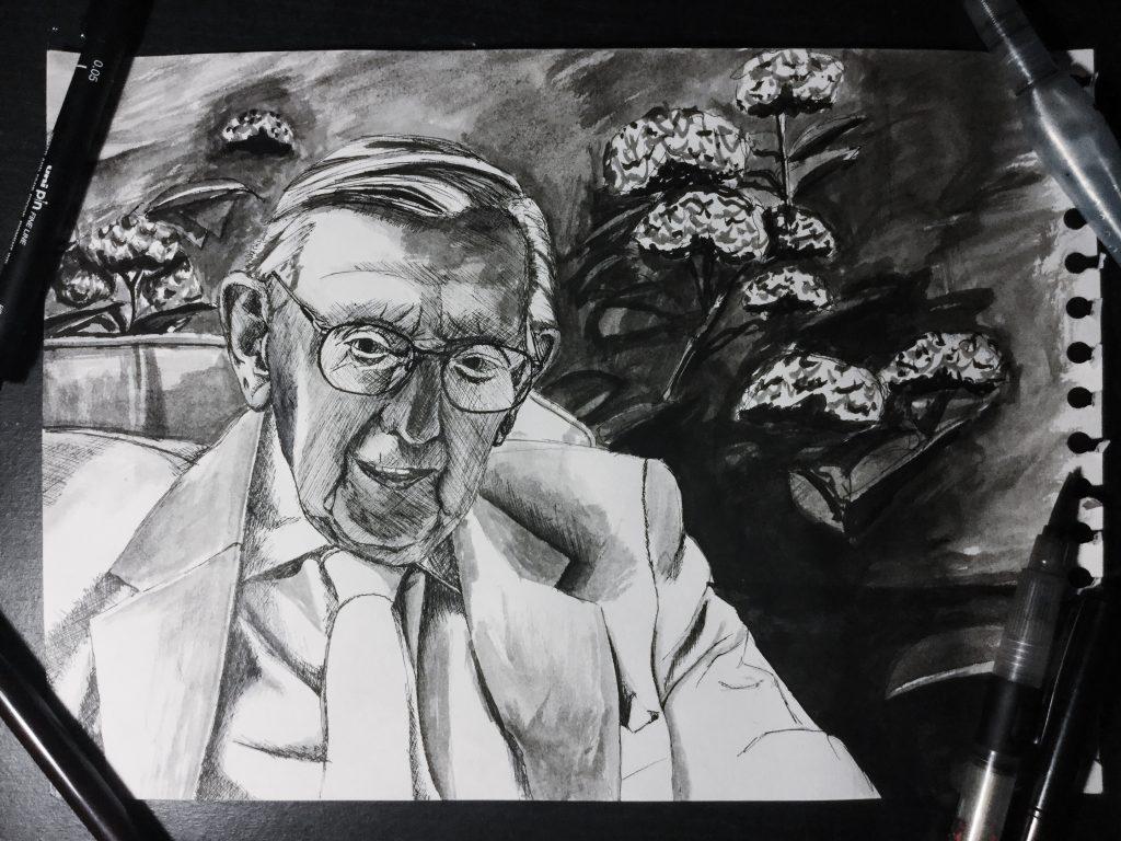 Commissioned portrait for client