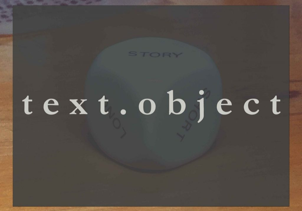 text object thumbnail
